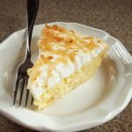 Coconut Pie slice