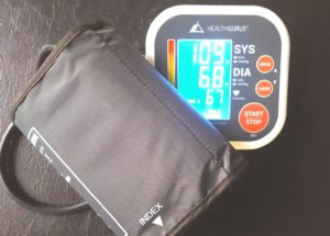 Digital blood pressure cuff
